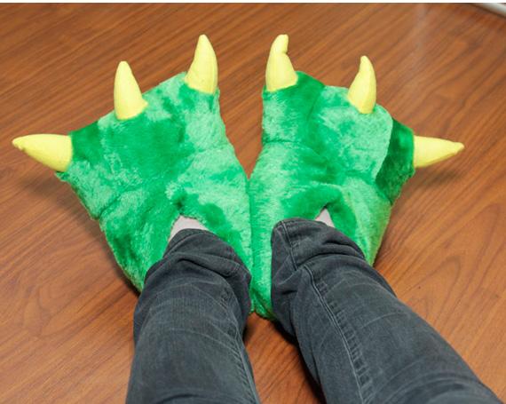 Готовая обувь для костюма крокодила