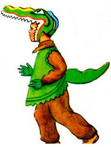 Готовая голова крокодила