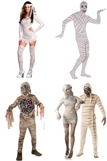 Как сделать костюм мумии своими руками