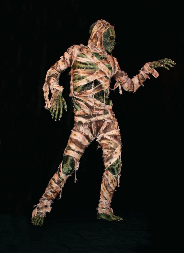 делаем костюм мумии по-настоящему устрашающим