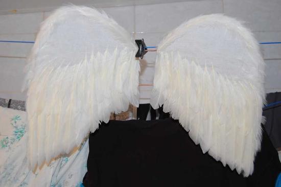 Пуховые крылья ангела