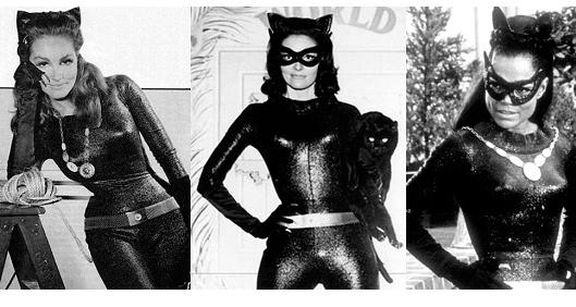 Первые костюмы женщины кошки