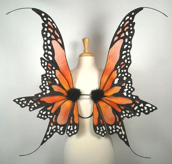 Делаем крылья бабочки