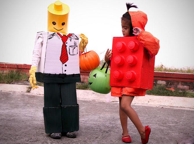 Костюм Лего