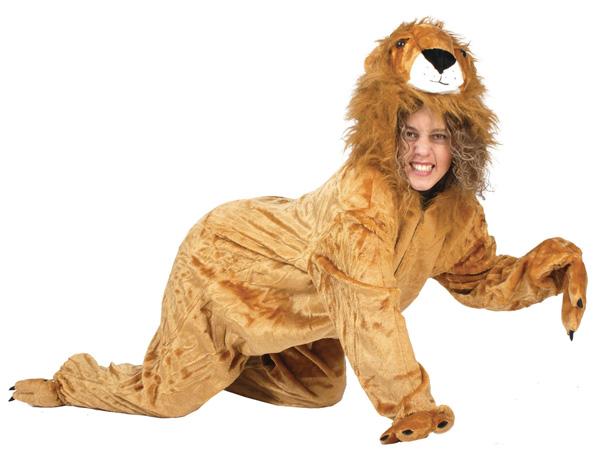 Костюм льва для девочки своими руками 33