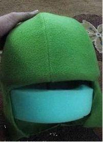 шапка для головы лягушки