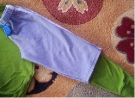 шьем штаны для костюма лягушки