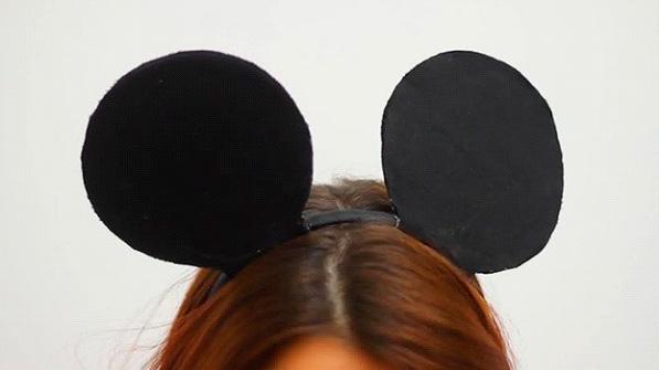 Как сделать ушки для мышки своими руками