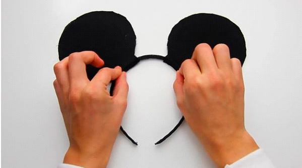 Как сделать ушки мышки своими руками 90