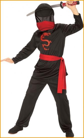 Как сделать костюм ниндзи