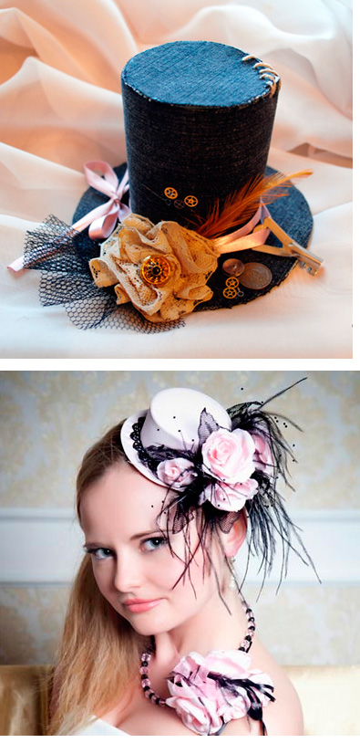 Дополнительные украшения для шляпы