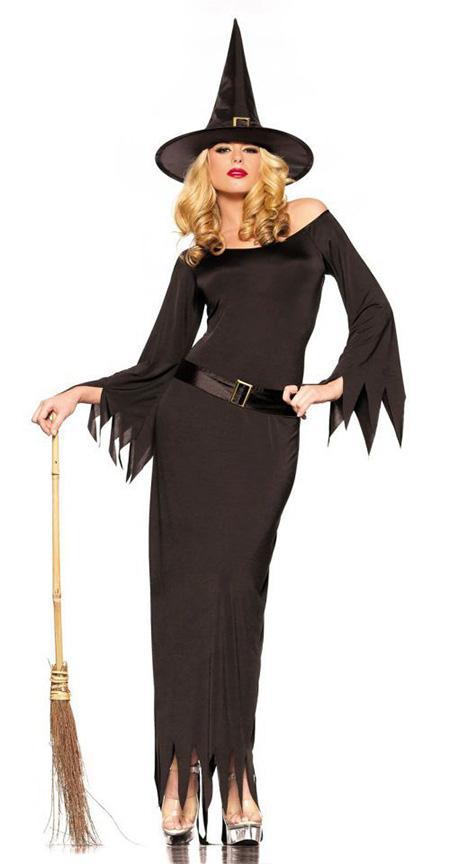 Костюм ведьмы на Хэллоуин - 64 фото