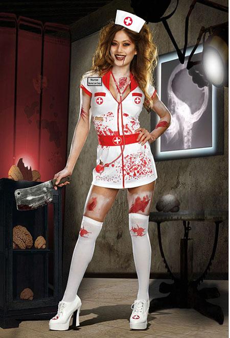 Образ медсестры стриптиз