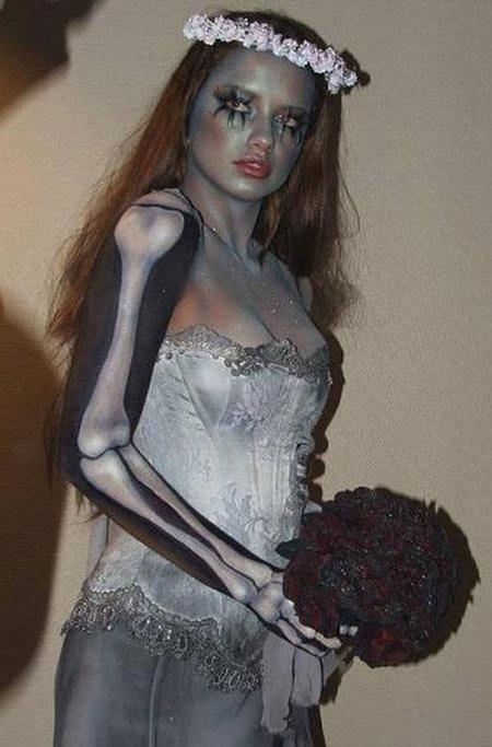 На хэллоуин для девушки своими руками