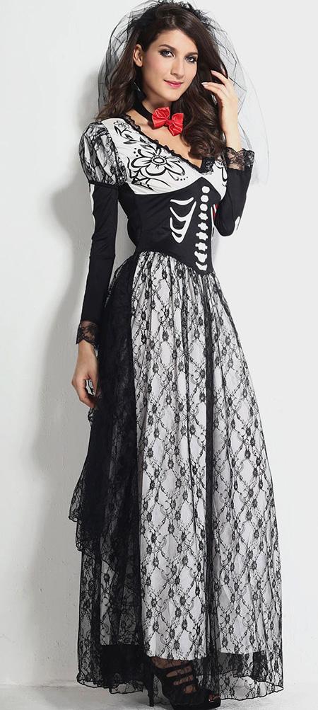 Костюм вампирши на хэллоуин