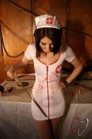 Фото костюм медсестры на хэллоуин своими руками