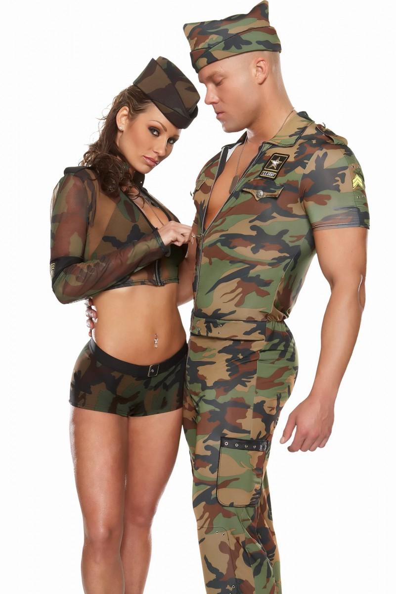 Сексуальные девушки в солдатской форме фото 22 фотография