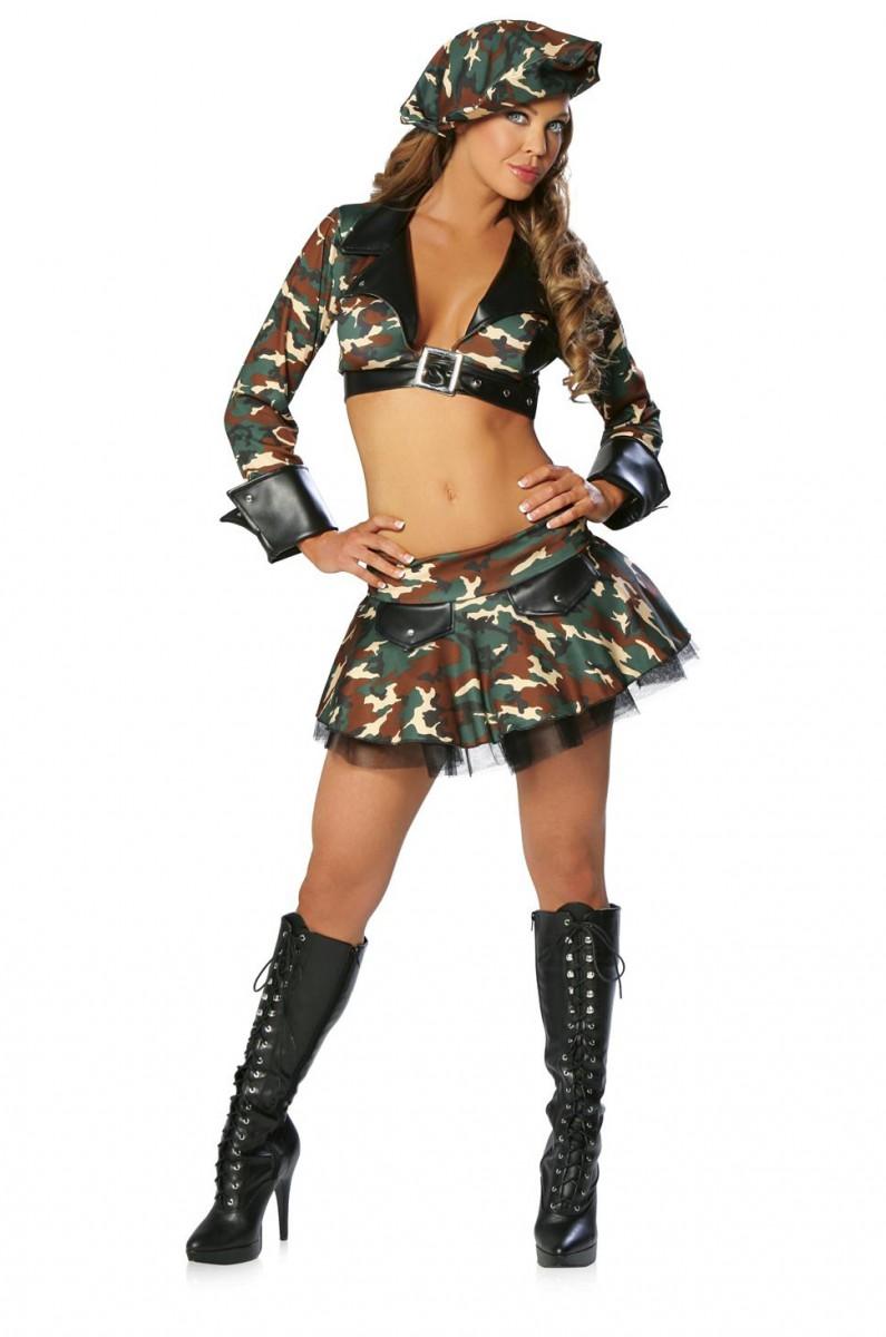 Фото в военном костюме эро 8 фотография