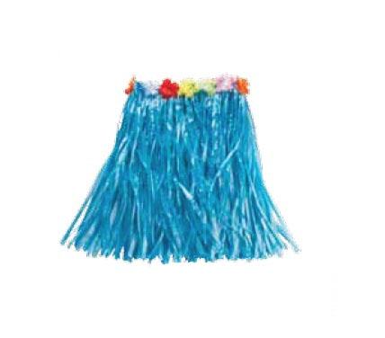 Юбка гавайская синяя