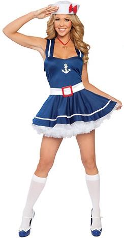 Костюм влюбленной морячки