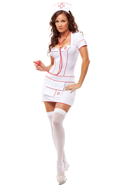 Костюм медсестры в белом