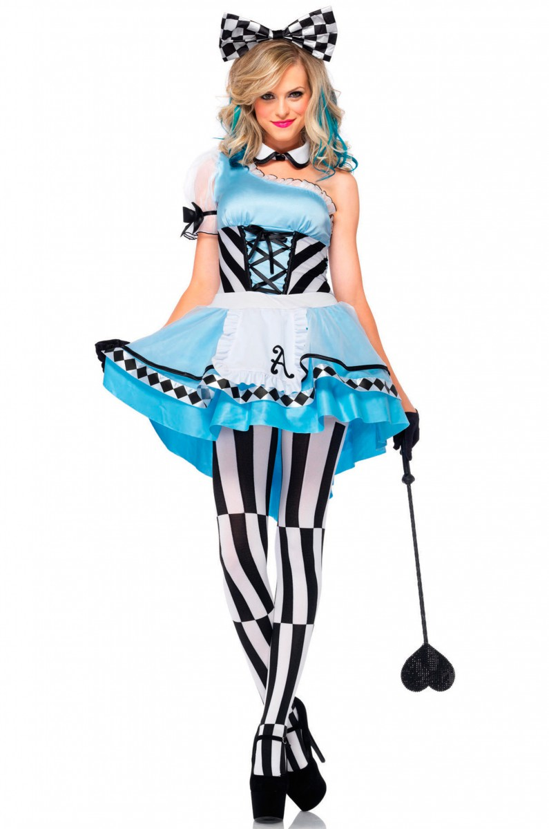 Костюм Алисы с бантом купить в интернет-магазине InCostume.ru