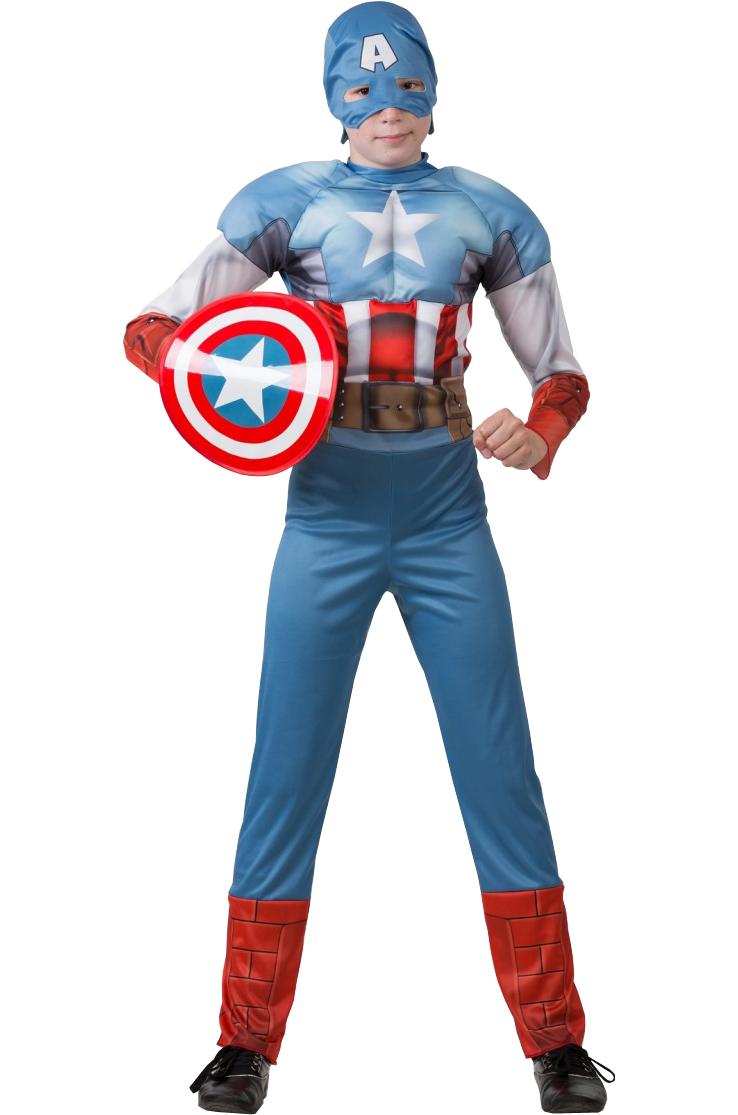 Юный Капитан Америка
