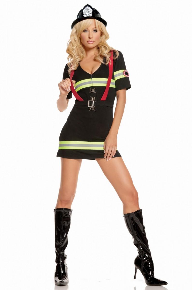 Костюм пылкой  пожарной