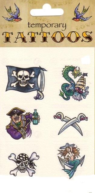 Пиратские тату