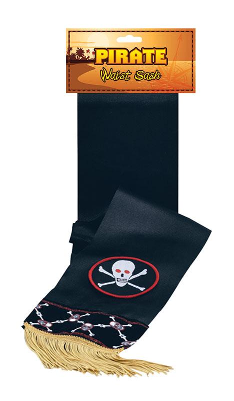 Повязка пирата с черепом