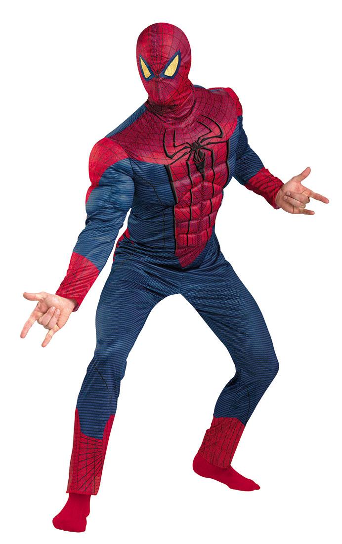 Костюм человека-паука делюкс