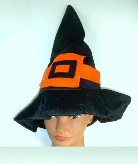 Колпак ведьмы с оранжевой пряжкой