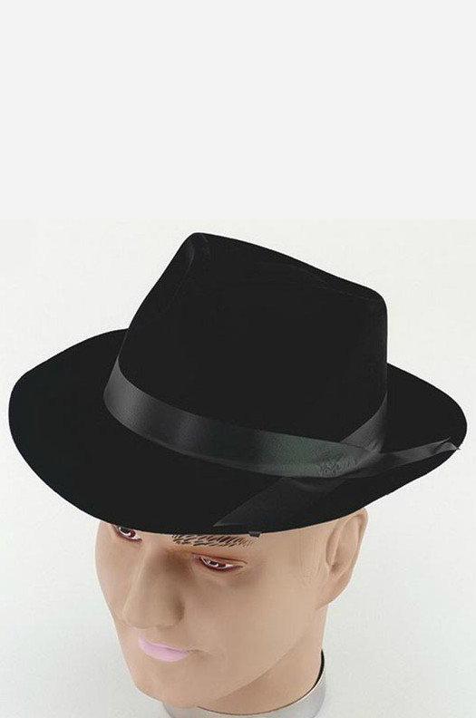 Гангстерская шляпа сделать