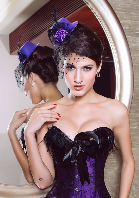 Шляпка Виолетта