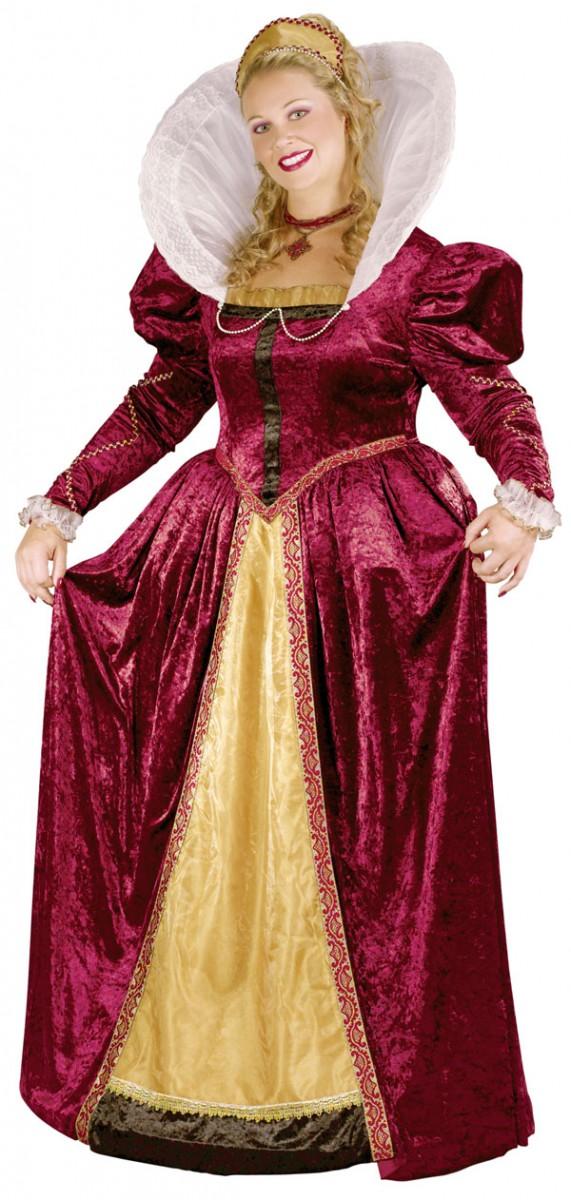 Костюм королевой Елизаветы
