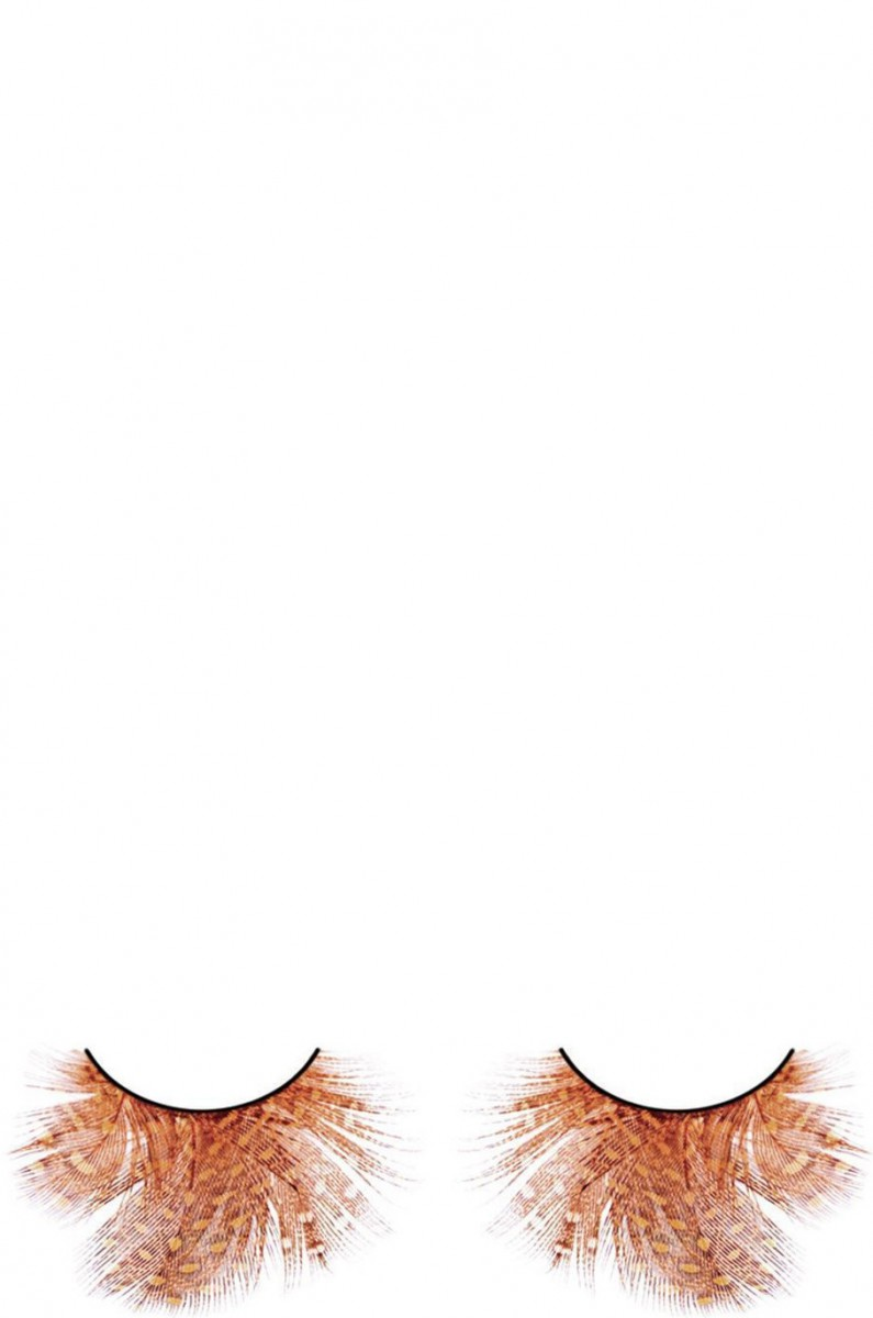 Перьевые ресницы