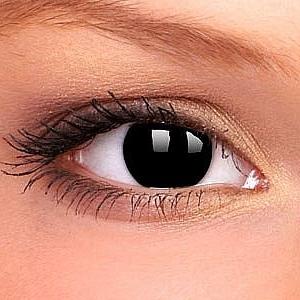 Линзы Черный глаз