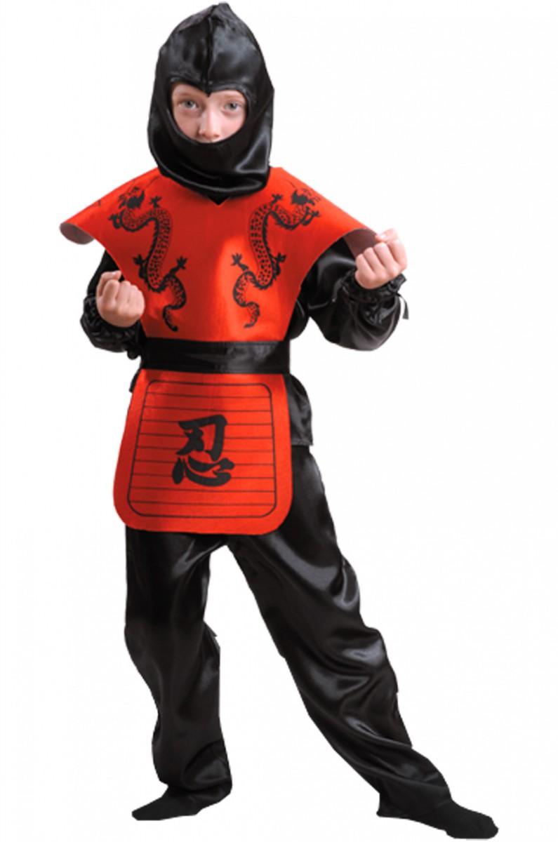 Как сшить костюм ниндзя своими руками фото
