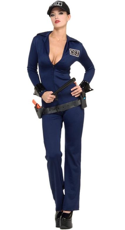 Костюм гламурной полицейской