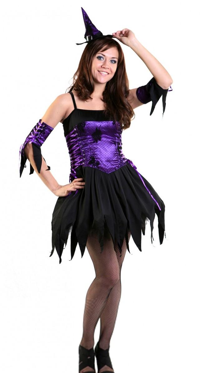 Костюм фиолетовой ведьмы