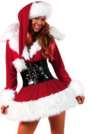Костюм королевы Рождества
