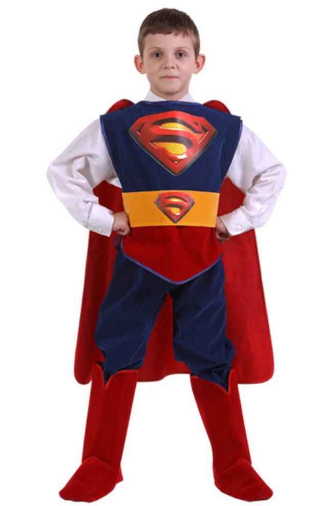 Костюм Супермена люкс
