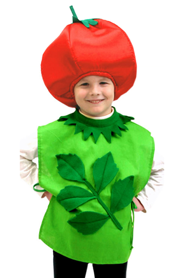 Как сделать ребенку костюм яблока