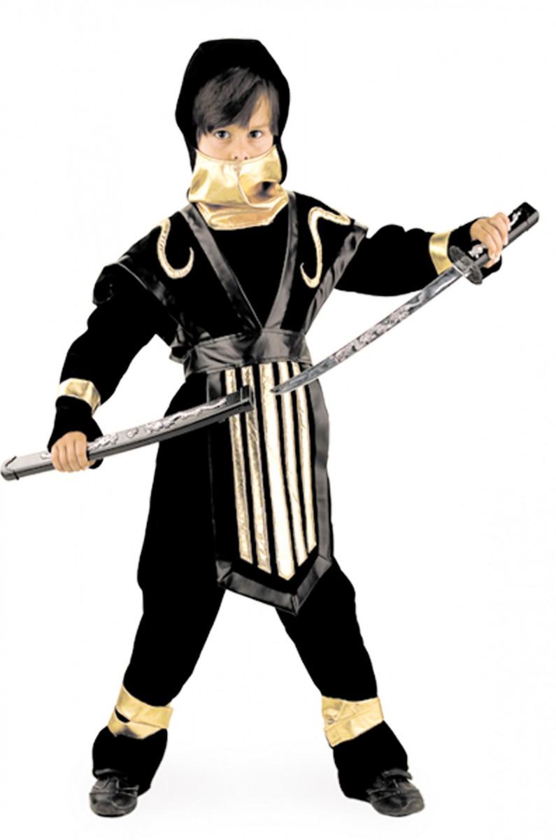 Костюм воина-ниндзя