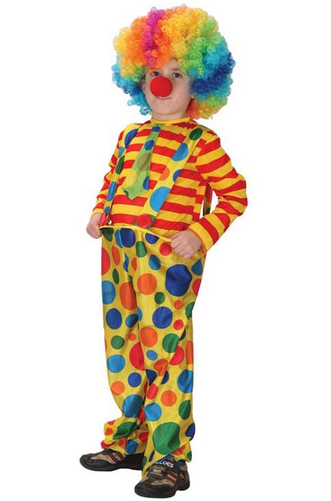 Как сделать костюм клоуна для мальчика