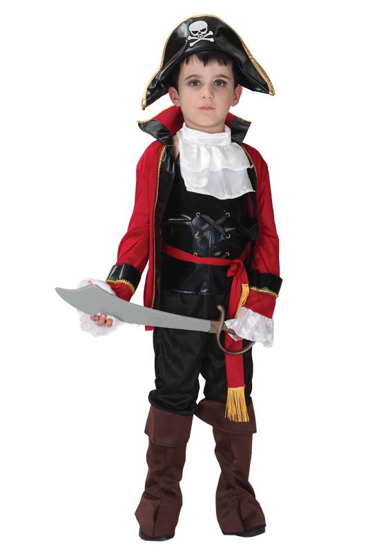 Пиратский костюм для ребенка своими руками 20