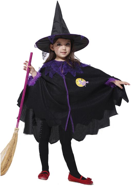 Костюм ведьмы для девочек своими руками