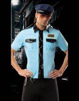 Костюм бесстрашного полицейского