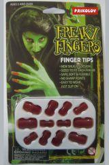Ногти накладные красные