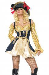 Костюм золотой пиратки